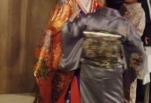 Vestizione della geisha e della oiran al Japan Matsuri di Bellinzona.