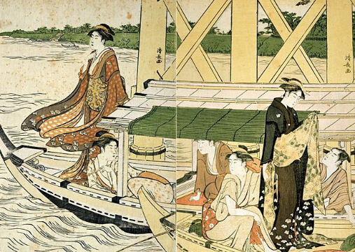 Geisha, la grammatica del kimono.