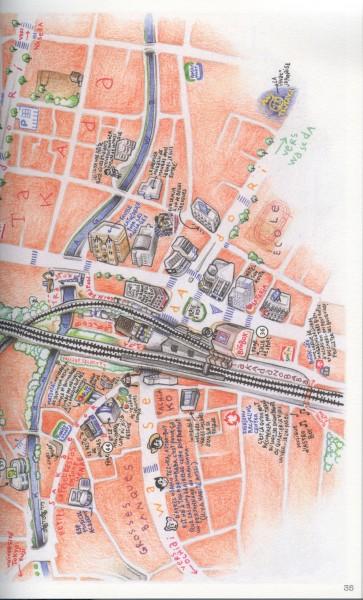 TOKYO SANPO MAP