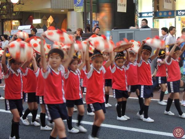 E che la danza abbia inizio! Yamagata, hanagasa matsuri, 7 agosto 2013.