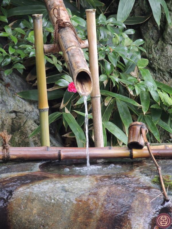 La bellezza di ciò che è semplice. Un giardino a Nara. Novembre 2015.