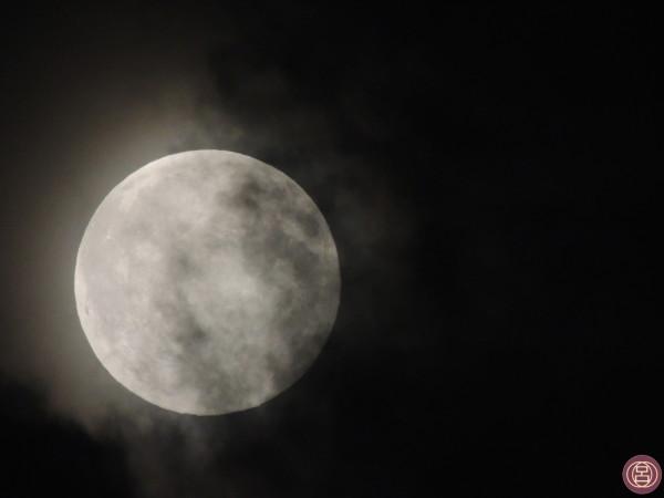 Luna. Un'impressione di fine estate.